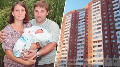 Семья вынуждена жить на кухне из-за «воющего» подвала в ипотечной квартире