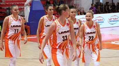 Российские клубы УГМК и «Динамо» вышли в финал женской баскетбольной Евролиги