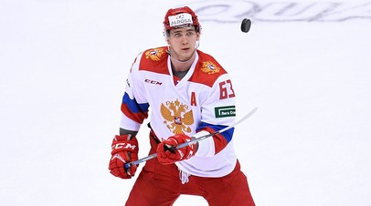 Олимпийская сборная России по хоккею обыграла команду Франции в матче Еврочелленджа