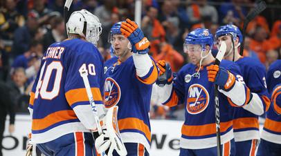 Пас Малкина не спас «Питтсбург» от второго поражения в серии плей-офф НХЛ с «Айлендерс»
