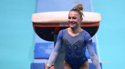 Гимнастка Пасека завоевала золото в опорном прыжке на ЧЕ в Польше