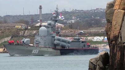 Межвидовое учение войск Южного военного округа в Крыму и акватории Чёрного моря