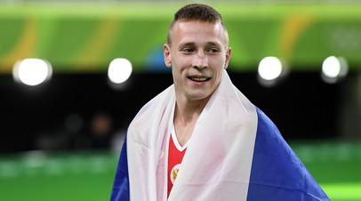 Гимнаст Аблязин завоевал золото в опорном прыжке на ЧЕ