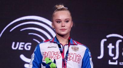 Гимнастка Мельникова завоевала бронзу в вольных упражнениях на ЧЕ
