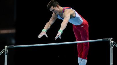 Гимнаст Далалоян стал третьим в упражнении на перекладине в рамках ЧЕ