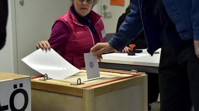 Социал-демократическая партия лидирует на выборах в Финляндии
