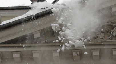 Прокуратура отчиталась о проверке по факту травмирования ребёнка в результате падения снега на Урале