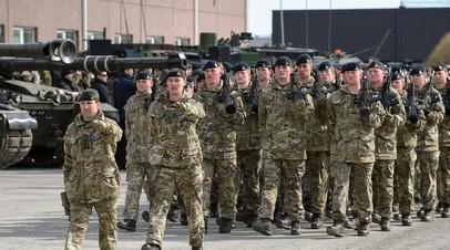 Британские военные в Эстонии