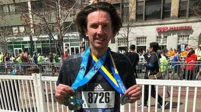 Экс-футболист сборной России Смертин установил персональный рекорд на Бостонском марафоне
