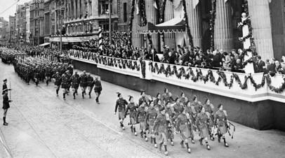 Парад в честь независимости Ирландии