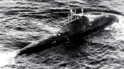 Атомная подлодка проекта 705 «Лира»