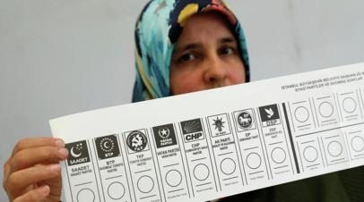 ЦИК Турции выдала избранному мэру Стамбула сертификат о признании