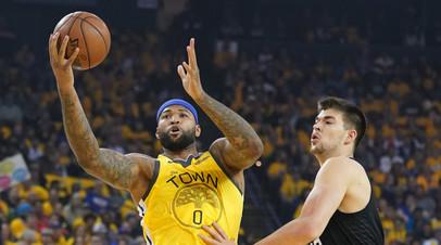 В «Голден Стэйт» подтвердили, что Казинс может пропустить весь розыгрыш плей-офф НБА