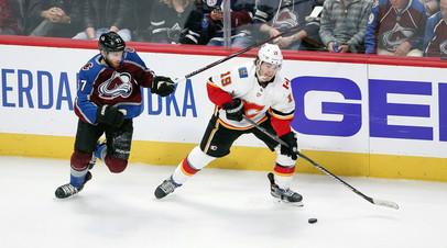 «Колорадо» с Задоровым вырвал победу над «Калгари» в плей-офф НХЛ
