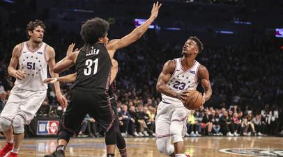 «Филадельфия» вышла вперёд в серии НБА с «Бруклином»