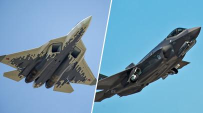 Су-57 и F-35