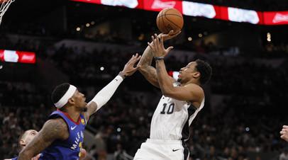 Дабл-дабл Йокича помог «Денверу» сравнять счёт в серии плей-офф НБА с «Сан-Антонио»