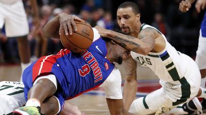 «Милуоки» победил «Детройт» в плей-офф НБА