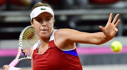 Павлюченкова обыграла Тревизан и помогла России победить Италию на Кубке Федерации