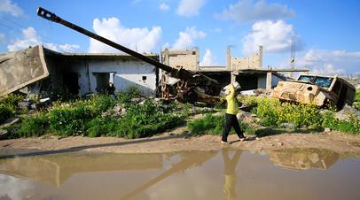 На улицах сирийского города Кобани