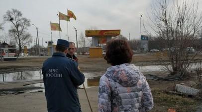 В Хабаровском крае оштрафовали мужчину за поджог сухой травы у АЗС