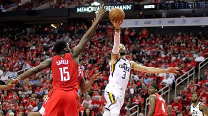 «Хьюстон» победил «Юту» и вышел во второй раунд плей-офф НБА