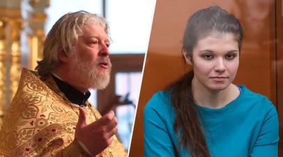 Протоиерей Алексей Уминский и Варвара Караулова