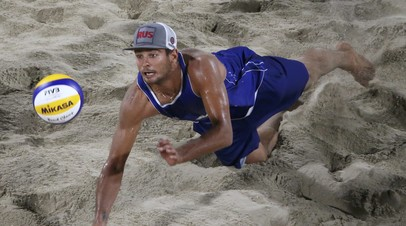 Красильников и Стояновский выиграли этап Мирового тура по пляжному волейболу
