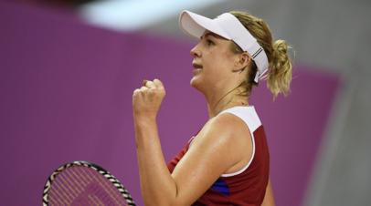 Павлюченкова и Шафаржова проиграли в финале турнира WTA в Штутгарте в парном разряде