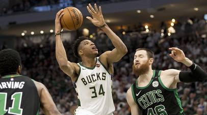 «Бостон» обыграл «Милуоки» в первом матче серии плей-офф НБА