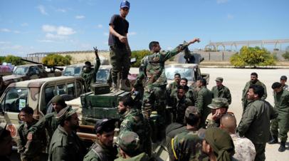 МИД России выступил за политическое урегулирование кризиса в Ливии