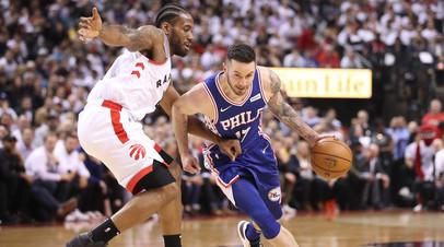 «Филадельфия» обыграла «Торонто» и сравняла счёт в серии плей-офф НБА