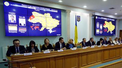 В ожидании инаугурации: ЦИК Украины объявила Зеленского избранным президентом