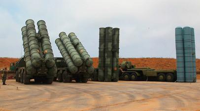 Пусковые установки ЗРК С-400 «Триумф»