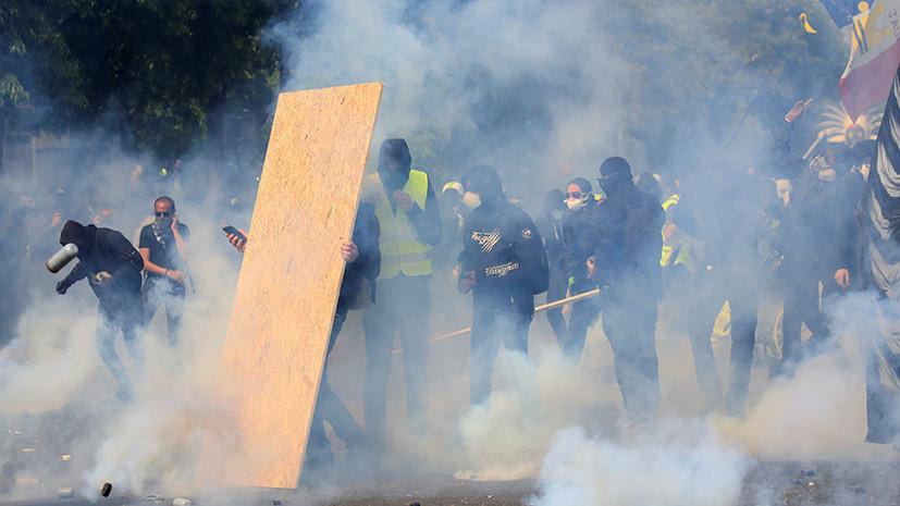 «Новый смысл Дня солидарности трудящихся»: как во Франции прошли первомайские демонстрации