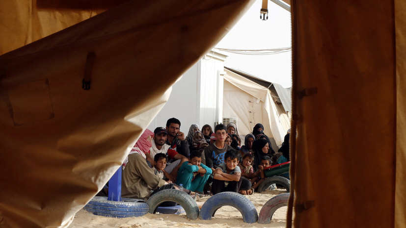 Почти две тысячи беженцев покинули лагерь «Эр-Рукбан» за сутки