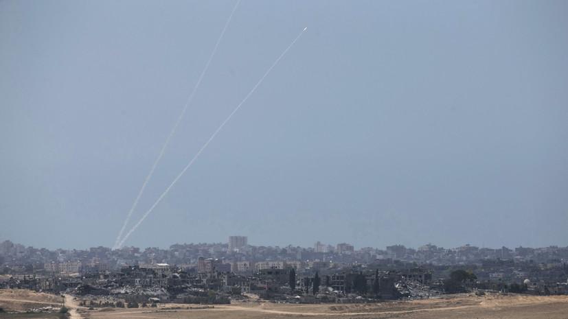 Израильские военные засекли пуски 50 ракет из сектора Газа