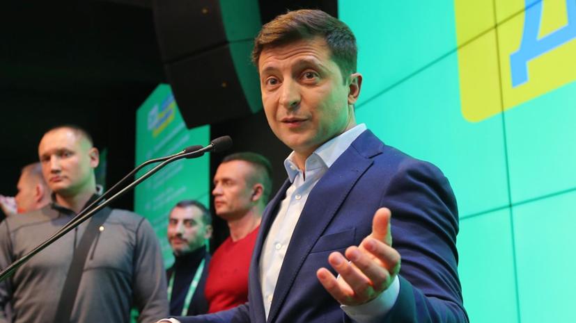 Зеленский предложит депутатам Рады провести инаугурацию 19 мая