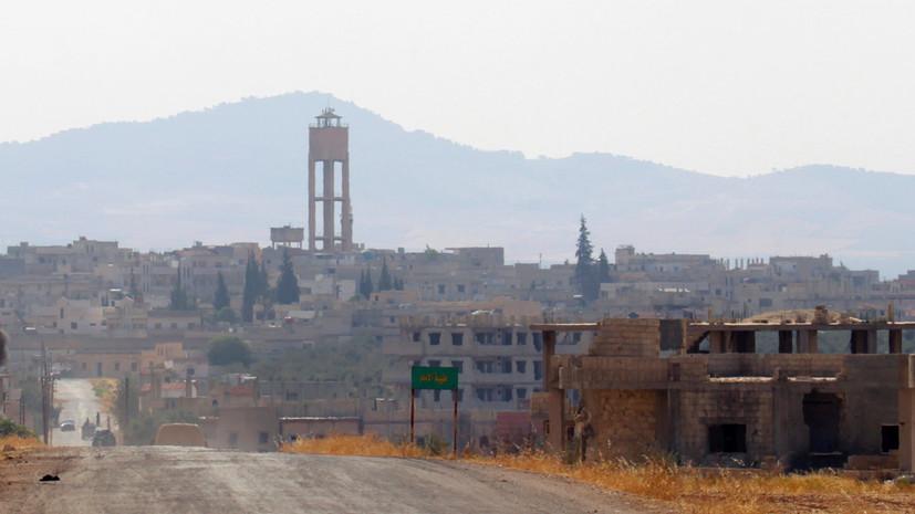 В ЦПВС не исключили подготовки боевиками атаки на Хаму