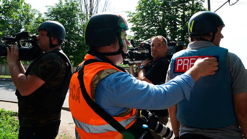 «Атмосфера беззакония»: почему на Украине растёт число преступлений против журналистов