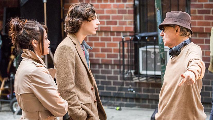 Европейская премьера: фильм Аллена покажут в Италии вопреки решению американского прокатчика