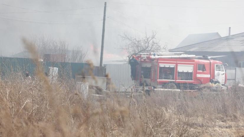 К тушению пожаров в Курганской области привлекут дополнительные силы и технику от Минобороны