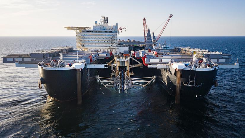 В соответствии с графиком: «Газпром» проложил 48% «Северного потока — 2»