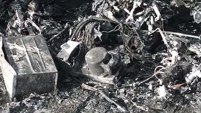 В МАК рассказали о состоянии чёрных ящиков сгоревшего SSJ-100