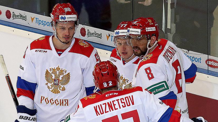 Игроки сборной России по хоккею прошли курс подготовки пилотов боевых истребителей