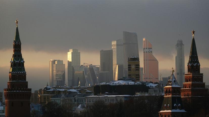В Москве 8 мая из-за грозы и ветра объявлен «жёлтый» уровень опасности