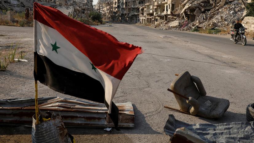 В освобождённом от боевиков сирийском городе Шахта проводят кампанию по благоустройству