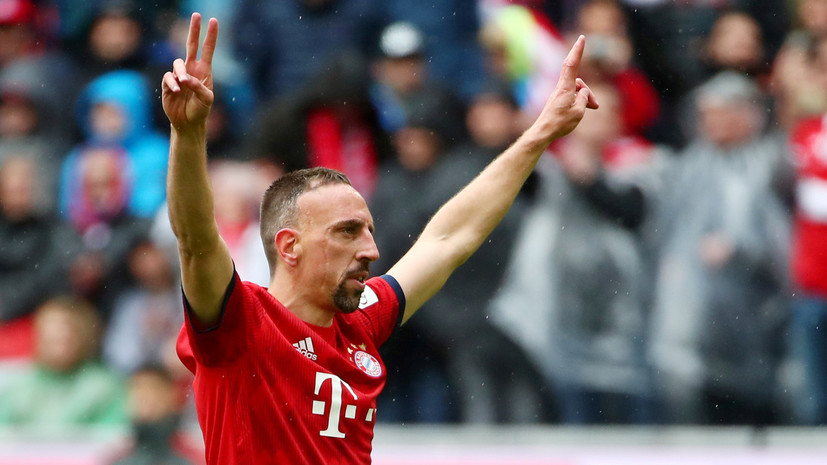 Рибери продолжит карьеру после ухода из «Баварии»