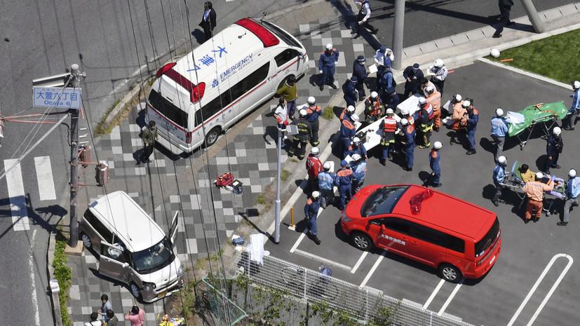 As a result, car crash in Japan killed two children - International News