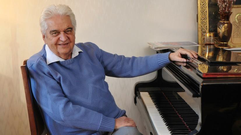Бортко выразил соболезнования в связи со смертью композитора Крылатова